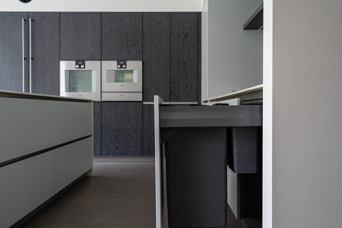 Pull out Bins - Hanson Electrical Kitchens, Hull