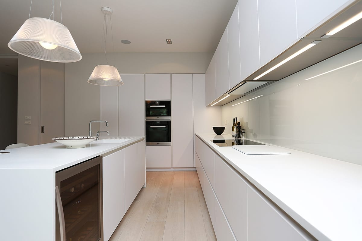 Under cabinet strip LED Lighting - Hanson Electrical Kitchens, Hull
